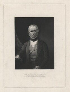Charles Gordon-Lennox, 5th Duke of Richmond and Lennox, by Hinchliff, after a daguerreotype by  Antoine Claudet - NPG D5816