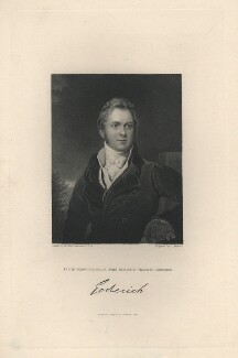 Frederick John Robinson, 1st Earl of Ripon, by Joseph John Jenkins, published by  Fisher Son & Co, after  Sir Thomas Lawrence - NPG D5820