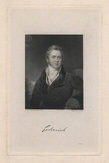 Frederick John Robinson, 1st Earl of Ripon, by Joseph John Jenkins, after  Sir Thomas Lawrence, published 1830 (circa 1823) - NPG D5821 - © National Portrait Gallery, London