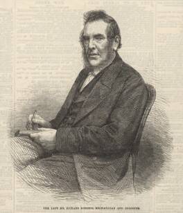Richard Roberts, published by Illustrated London News, after an intermediary drawing by  Thomas Dewell Scott - NPG D5824