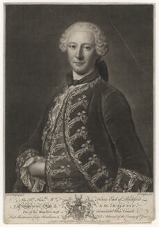 William Henry Nassau de Zuylestein, 4th Earl of Rochford, by and sold by Richard Houston, after  Domenico Duprà - NPG D5827