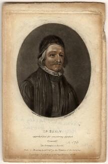 Thomas Bailey, by Richard Earlom, after  David Loggan - NPG D583