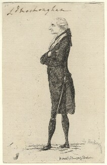 Charles Watson-Wentworth, 2nd Marquess of Rockingham, by James Sayers, published by  Charles Bretherton - NPG D5830