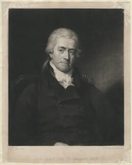 Sir Samuel Romilly, by Samuel William Reynolds Jr, after  Martin Cregan - NPG D5835