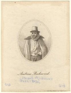 Ambrose Rookwood, after Unknown artist - NPG D5838