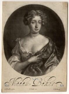 Madam Baker, by Isaac Beckett, after  Sir Godfrey Kneller, Bt - NPG D584