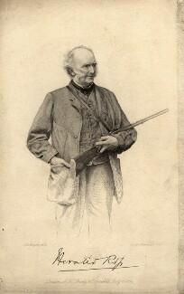 Horatio Ross, by Joseph Brown, after a photograph by  John Jabez Edwin Mayall - NPG D5840