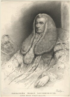 Alexander Wedderburn, 1st Earl of Rosslyn (Lord Loughborough) when Lord Loughborough, by Henry Meyer, after  James Northcote - NPG D5841