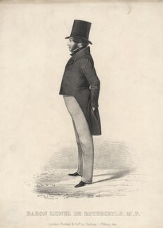 Lionel Nathan de Rothschild, by William Richardson - NPG D5843
