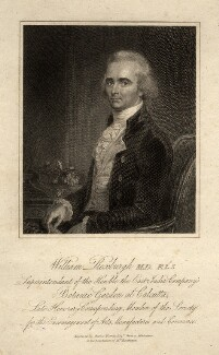 William Roxburgh, by Charles Warren, after a miniature by  Unknown artist - NPG D5849