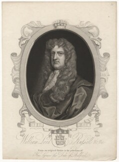 William Russell, Lord Russell, by James Fittler, after  John Riley - NPG D5857