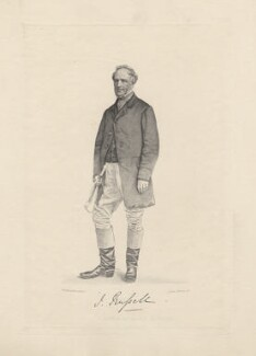 John Russell, by Joseph Brown, published by  A.H. Baily & Co, after a photograph by  Button & Sons - NPG D5860