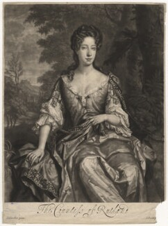 Catherine Manners (née Noel), Duchess of Rutland, by John Smith, after  Sir Godfrey Kneller, Bt - NPG D5866