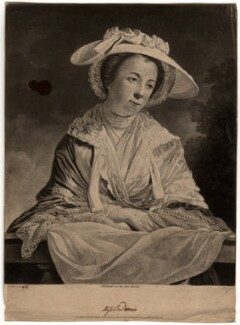 Miss Baldwin, by Benjamin Green ('Pott'), after  Tilly Kettle - NPG D587