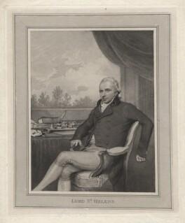 Alleyne Fitzherbert, Baron St Helens, after Henry Edridge - NPG D5884