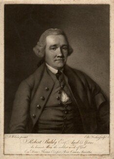 Robert Baldy, by Edward Fisher, after  Benjamin Wilson - NPG D589