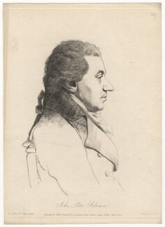 Johann Peter Salomon, by William Daniell, after  George Dance - NPG D5894