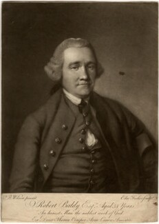 Robert Baldy, by Edward Fisher, after  Benjamin Wilson - NPG D590