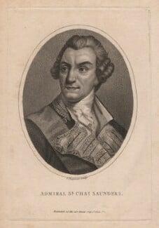 Sir Charles Saunders, by John Chapman - NPG D5904