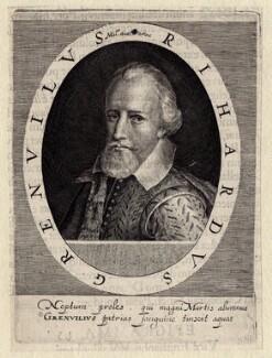 Sir Richard Grenville, by Simon de Passe - NPG D5921