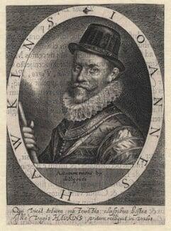 Sir John Hawkins, by Magdalena de Passe, by  Willem de Passe, published 1620 - NPG D5922 - © National Portrait Gallery, London