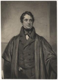 Adam Sedgwick, by Samuel Cousins, after  Thomas Phillips - NPG D5929