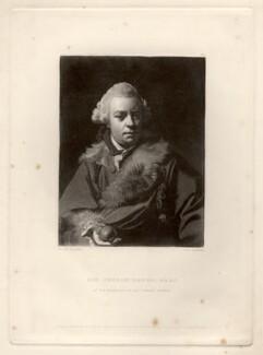 Sir Joseph Banks, Bt, by Samuel William Reynolds, after  Sir Joshua Reynolds - NPG D593