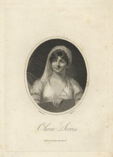 Olivia Serres (née Wilmot), by Mackenzie, after  George Francis Joseph - NPG D5935