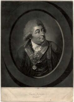 Charles Bannister, by Robert Laurie, after  Robert Dighton - NPG D594
