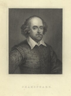 William Shakespeare, after Unknown artist - NPG D5944