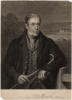 Robert Barclay Allardice, by Robert Moore Hodgetts, after  James William Giles, mid 19th century - NPG D597 - © National Portrait Gallery, London