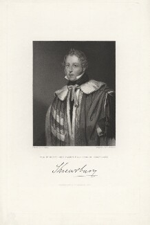 John Talbot, 16th Earl of Shrewsbury, by J. Morrison, published by  Fisher Son & Co, after  Octavius Oakley - NPG D5982