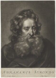 Abraham Simon, by Abraham Blooteling (Bloteling), after  Sir Peter Lely - NPG D5988