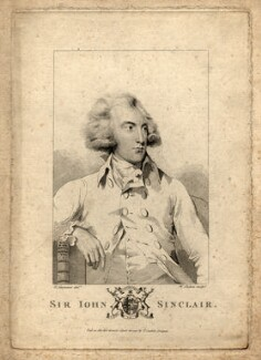 Sir John Sinclair, 1st Bt, by William Skelton, published by  Thomas Cadell the Elder, after  Sir Thomas Lawrence - NPG D5992