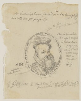 Robert Dudley, 1st Earl of Leicester, by Sir George Scharf - NPG D615