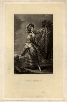 Giovanna Baccelli, by Richard Josey, published by  Henry Graves & Co, after  Thomas Gainsborough - NPG D616