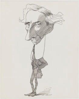 Bertrand Russell, by David Levine - NPG D62