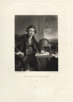 Sir Joseph Banks, Bt, by Samuel William Reynolds, after  Sir Joshua Reynolds - NPG D621