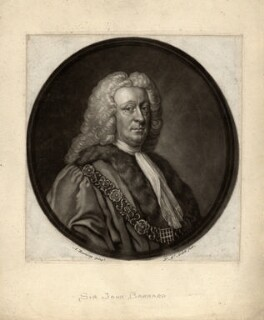 Sir John Barnard, by James Macardell, after  Allan Ramsay - NPG D637