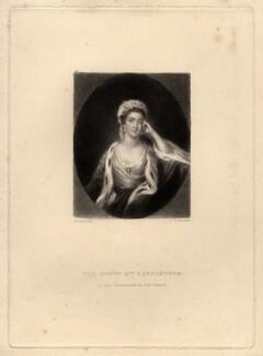 Elizabeth Barrington (née Vassal), by Samuel William Reynolds, after  Sir Joshua Reynolds - NPG D646
