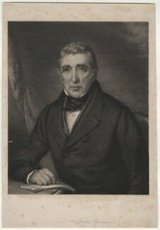 Sir John Barrow, 1st Bt, by George Thomas Payne, after  John Lucas - NPG D649