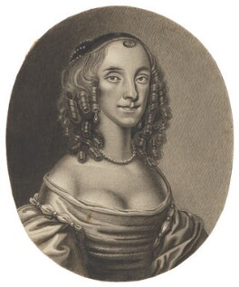 Lady Mary Langham (née Alston), after William Faithorne - NPG D6501