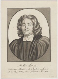 André Lortie, probably by George Perfect Harding, after  Unknown engraver - NPG D6502