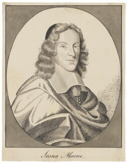 Josuah Moone, probably by George Perfect Harding, after  Robert White - NPG D6513