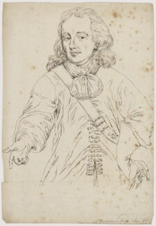 Sir Christopher Myngs, after John Brand, after  Unknown artist - NPG D6523