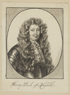 Henry Howard, 7th Duke of Norfolk, possibly by George Perfect Harding - NPG D6530