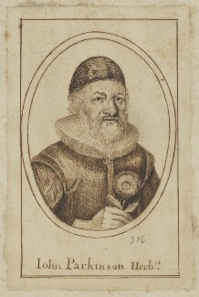John Parkinson, by Unknown artist - NPG D6539