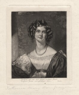 Katherine Mary Homfray, by James Harvey, after  Samuel Lane - NPG D6559
