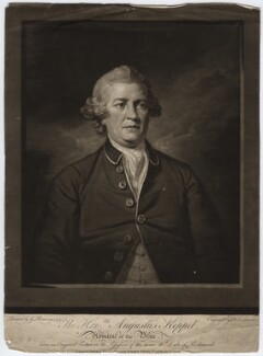 Augustus Keppel, Viscount Keppel, by William Dickinson, after  George Romney - NPG D6565