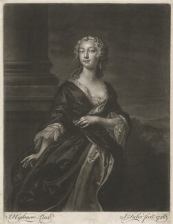 Teresia Constantia Phillips, by John Faber Jr, after  Joseph Highmore - NPG D657